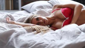 Lovely girl in lingerie